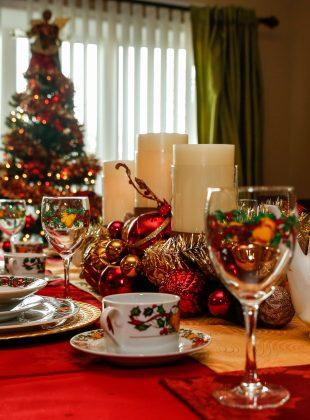 CHRISTMAS TABLE SETTING Sky island photography & video John Heyward Baltimore MD