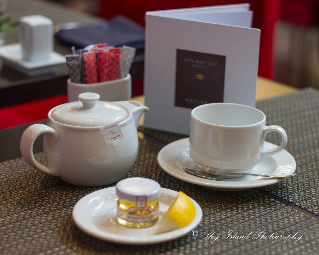 Tea Time Budapest Sofitel chain Bridge Hotel Sky Island Photography John Heyward