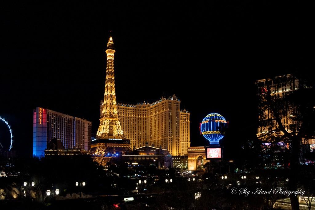 Las Vegas skyline Captured by John Heyward Of Sky Island Photography
