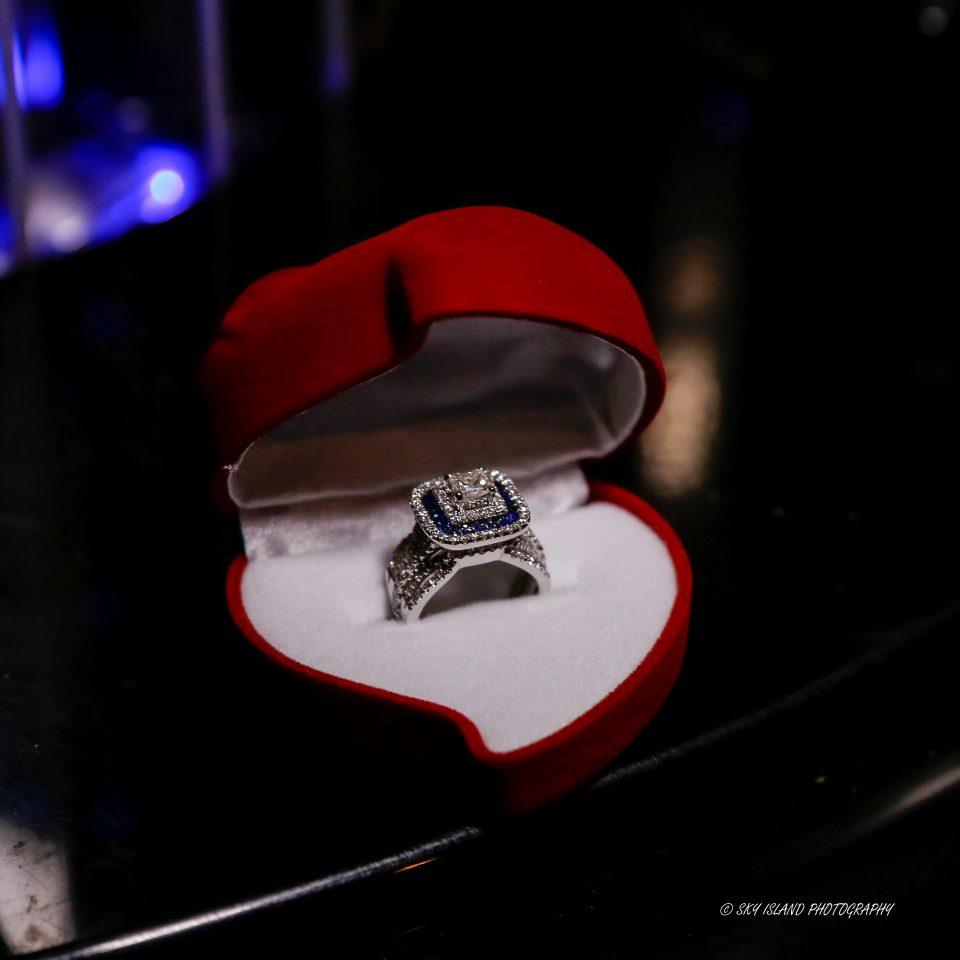 Engagement Ring in Heart shaped box Sky Island Photography John Heyward